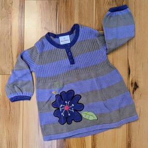 Hanna Andersson sweater dress - size 3T (90)